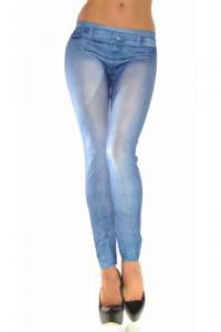 Legging sexy moulant imitation jean's
