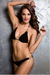 Bikini sexy à anneaux